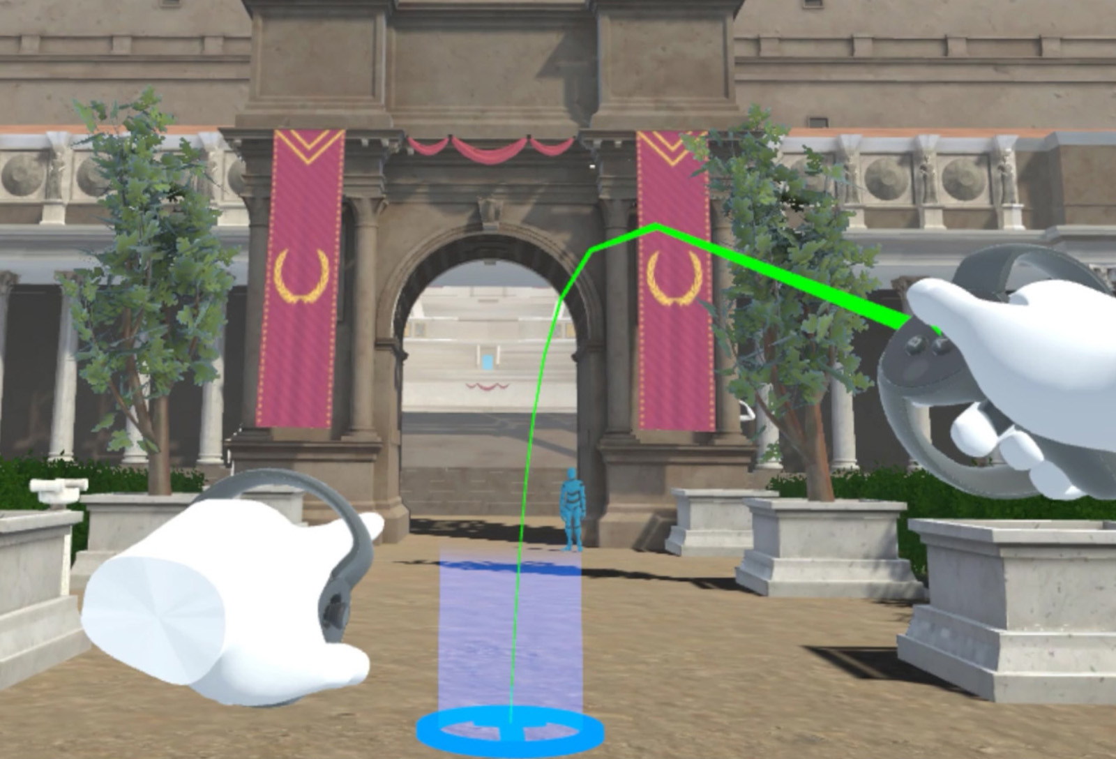 TORCH (en)coding Heritage Network - Exploring Ancient Rome through Immersive Technologies