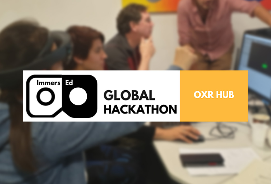OXR Hub launches the Immers-Ed Global Hackathon